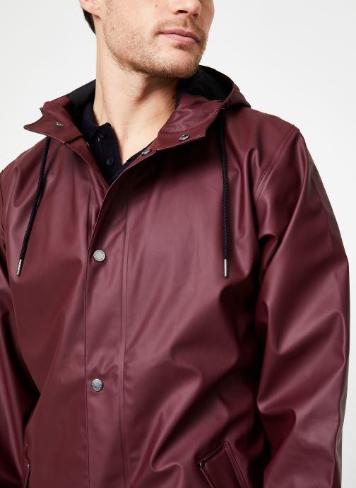 Vêtements Tretorn WINGS PLUS RAIN JACKET Bordeaux vue face