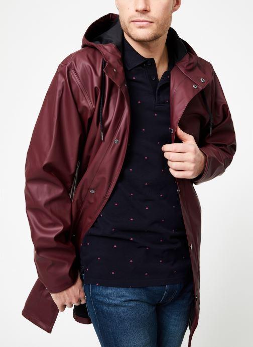 Vêtements Tretorn WINGS PLUS RAIN JACKET Bordeaux vue détail/paire