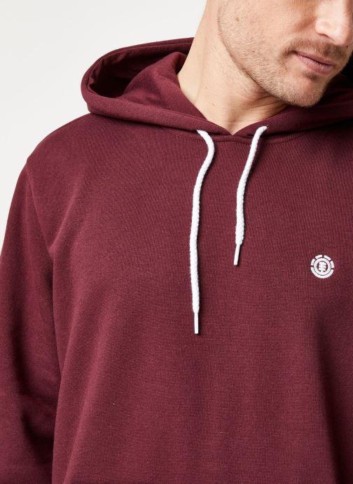 Vêtements Element Cornell Classic Rouge vue face