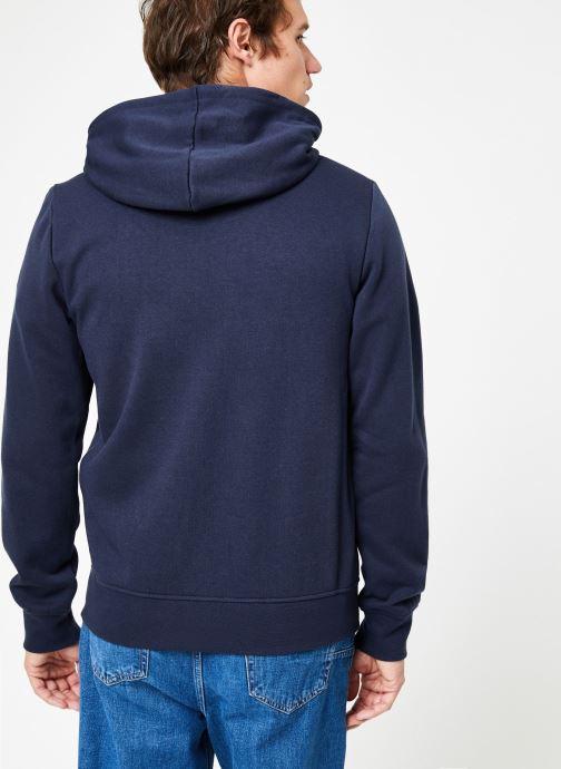 Vêtements Element Cornell Classic Zippé Bleu vue portées chaussures