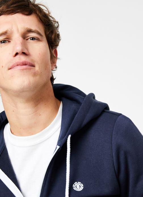Vêtements Element Cornell Classic Zippé Bleu vue face