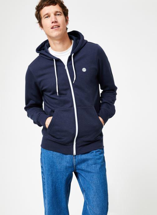 Vêtements Element Cornell Classic Zippé Bleu vue droite