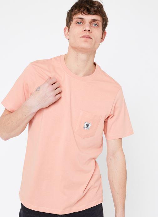 Vêtements Element Basic Pocket Label Rose vue détail/paire