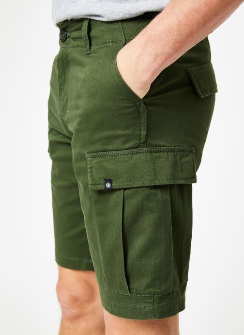 Vêtements Element Legion Cargo Vert vue face