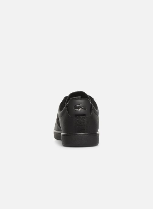 Baskets Lacoste Carnaby Evo 119 5 Sma Noir vue droite