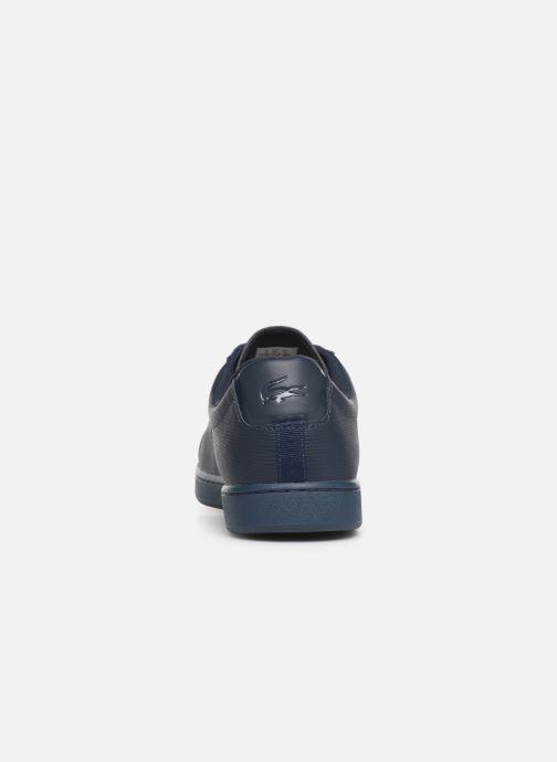 Sneakers Lacoste Carnaby Evo 119 5 Sma Blå Bild från höger sidan