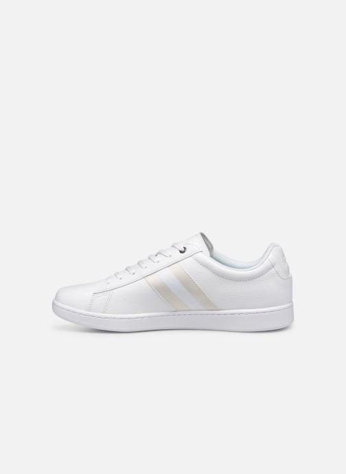 Sneaker Lacoste Carnaby Evo 119 5 Sma weiß ansicht von vorne