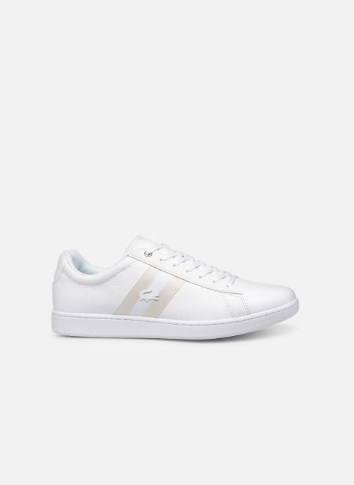Sneaker Lacoste Carnaby Evo 119 5 Sma weiß ansicht von hinten