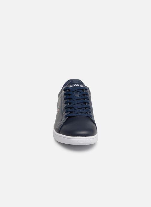 Baskets Lacoste Carnaby Evo 119 7 Sma Bleu vue portées chaussures