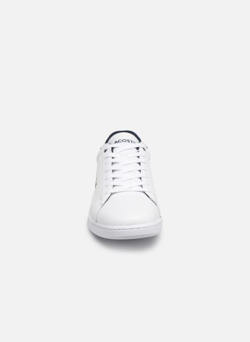Sneaker Lacoste Carnaby Evo 119 7 Sma weiß schuhe getragen