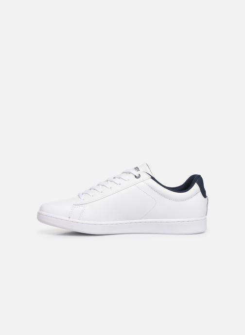 Sneaker Lacoste Carnaby Evo 119 7 Sma weiß ansicht von vorne