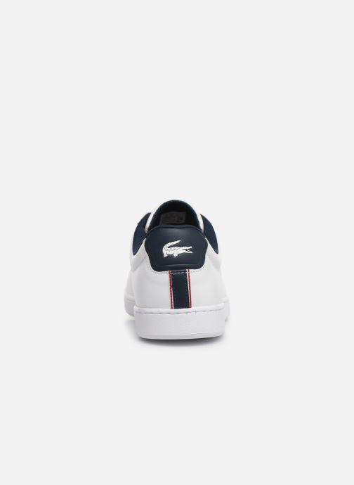 Sneaker Lacoste Carnaby Evo 119 7 Sma weiß ansicht von rechts