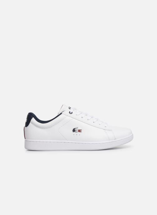 Sneaker Lacoste Carnaby Evo 119 7 Sma weiß ansicht von hinten