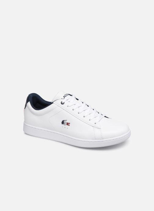 Baskets Lacoste Carnaby Evo 119 7 Sma Blanc vue détail/paire