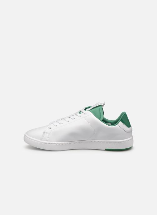 Baskets Lacoste Carnaby Evo Light-Wt 1191Sma Blanc vue face