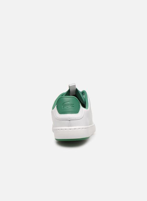 Baskets Lacoste Carnaby Evo Light-Wt 1191Sma Blanc vue droite