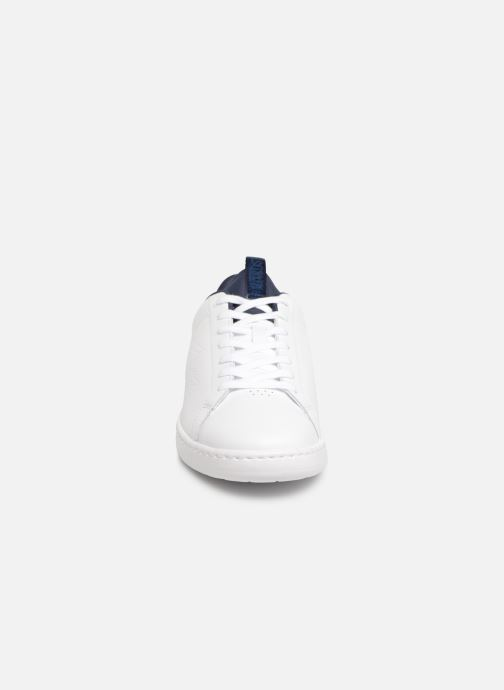 Baskets Lacoste Carnaby Evo Light-Wt 1191Sma Blanc vue portées chaussures
