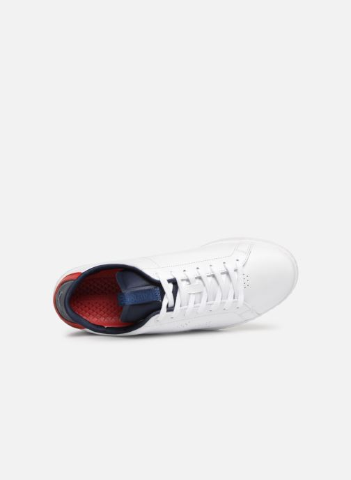 red nvy Baskets Light Wht Carnaby Lacoste wt Evo 1191sma Ok8wPXn0