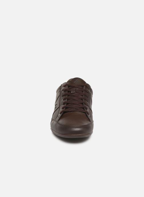 Baskets Lacoste Chaymon Bl 1 Cma Marron vue portées chaussures