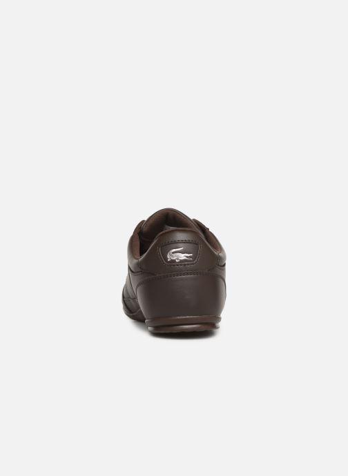 Sneaker Lacoste Chaymon Bl 1 Cma braun ansicht von rechts