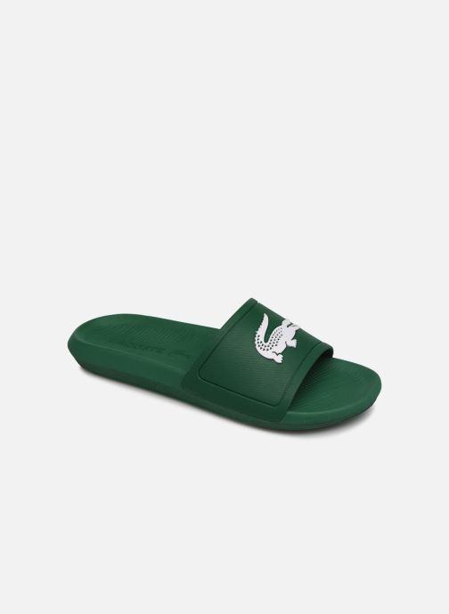 Sandales et nu-pieds Lacoste Croco Slide 119 1 Cma Vert vue détail/paire