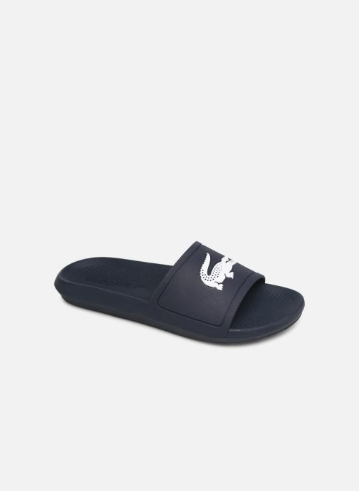 Sandales et nu-pieds Lacoste Croco Slide 119 1 Cma Bleu vue détail/paire