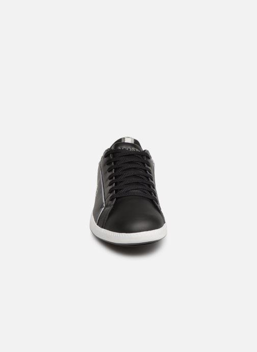 Baskets Lacoste Graduate 119 1 Sma Noir vue portées chaussures