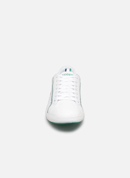 Baskets Lacoste Graduate 119 1 Sma Blanc vue portées chaussures