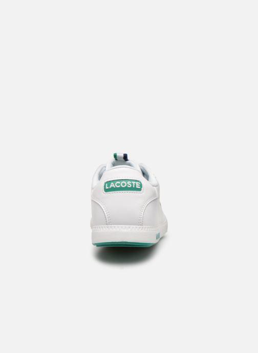 Baskets Lacoste Graduate 119 1 Sma Blanc vue droite