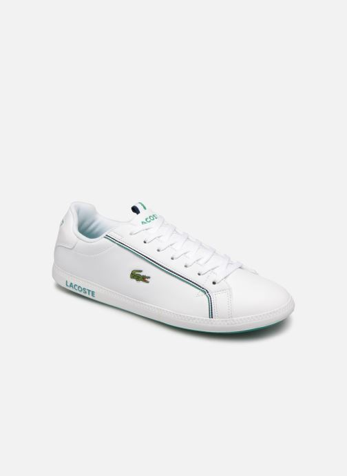 Trainers Lacoste Graduate 119 1 Sma White detailed view/ Pair view