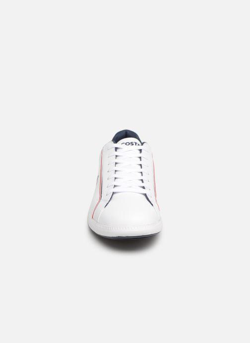 Baskets Lacoste Graduate 119 3 Sma Blanc vue portées chaussures