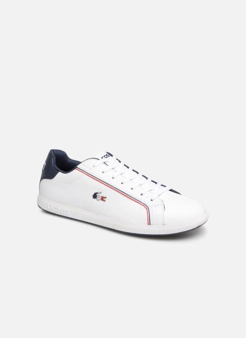 40e760d50ffbe Lacoste Graduate 119 3 Sma (White) - Trainers chez Sarenza (363101)