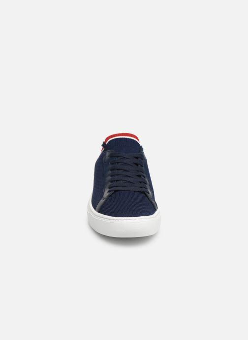 Sneakers Lacoste La Piquée 119 1 Cma Azzurro modello indossato