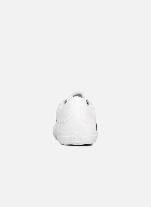 Baskets Lacoste Lerond 119 3 Cma Blanc vue droite