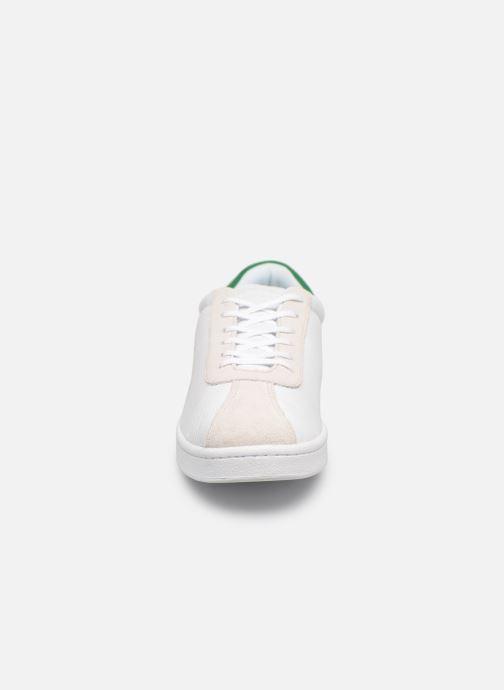 Baskets Lacoste Masters 119 2 Sma Blanc vue portées chaussures