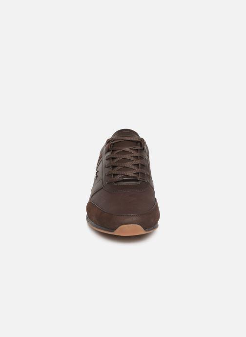 Baskets Lacoste Menerva 119 4 Cma Marron vue portées chaussures