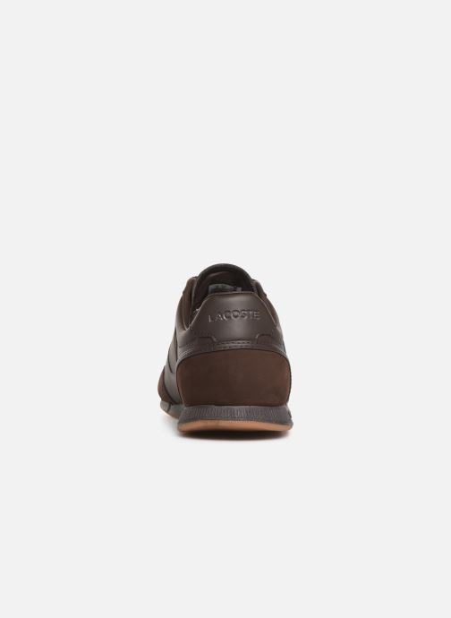 Trainers Lacoste Menerva 119 4 Cma Brown view from the right