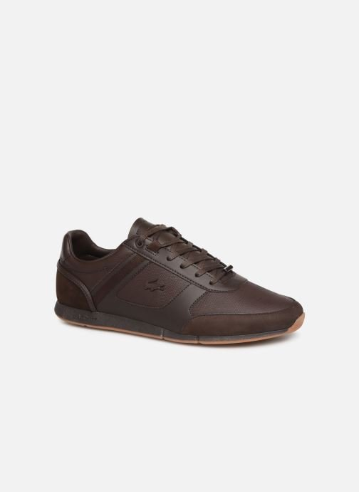Trainers Lacoste Menerva 119 4 Cma Brown detailed view/ Pair view