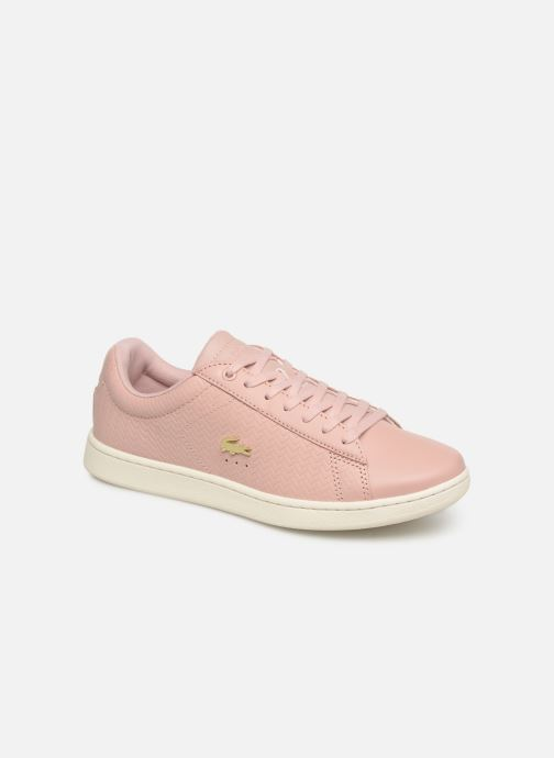 Baskets Lacoste Carnaby Evo 119 3 Sfa Rose vue détail/paire