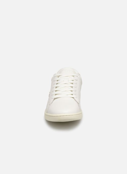 Baskets Lacoste Carnaby Evo 119 3 Sfa Blanc vue portées chaussures