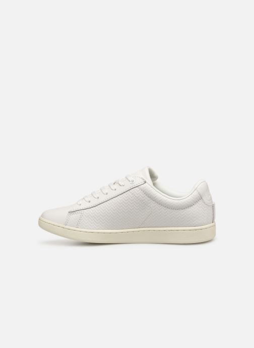 Baskets Lacoste Carnaby Evo 119 3 Sfa Blanc vue face