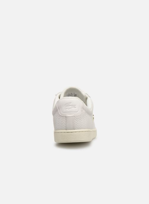 Baskets Lacoste Carnaby Evo 119 3 Sfa Blanc vue droite
