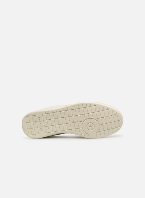 Baskets Lacoste Carnaby Evo 119 3 Sfa Blanc vue haut