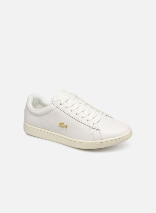 Baskets Lacoste Carnaby Evo 119 3 Sfa Blanc vue détail/paire