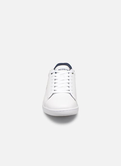 Sneaker Lacoste Carnaby Evo 119 7 Sfa weiß schuhe getragen