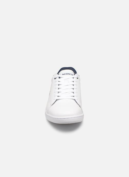 Baskets Lacoste Carnaby Evo 119 7 Sfa Blanc vue portées chaussures