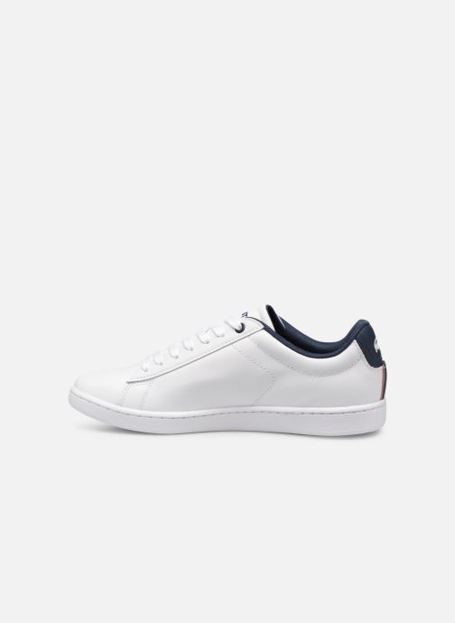 Baskets Lacoste Carnaby Evo 119 7 Sfa Blanc vue face
