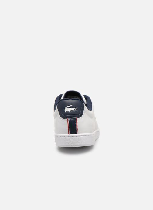Sneaker Lacoste Carnaby Evo 119 7 Sfa weiß ansicht von rechts
