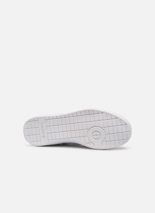 Sneaker Lacoste Carnaby Evo 119 7 Sfa weiß ansicht von oben