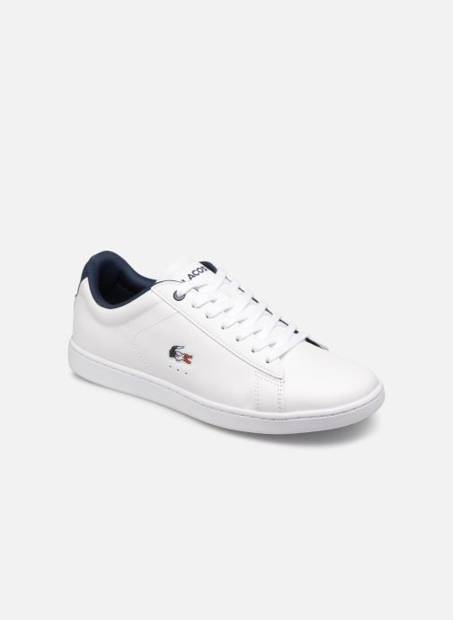Baskets Lacoste Carnaby Evo 119 7 Sfa Blanc vue détail/paire